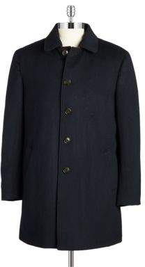 Lauren Ralph Lauren Wool-Blend Down-Filled Topcoat