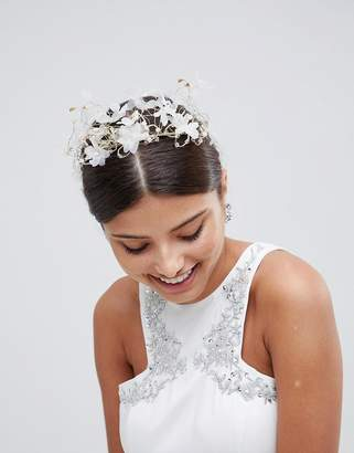 Love Rocks LoveRocks London Ethereal Floral Bridal Hair Crown