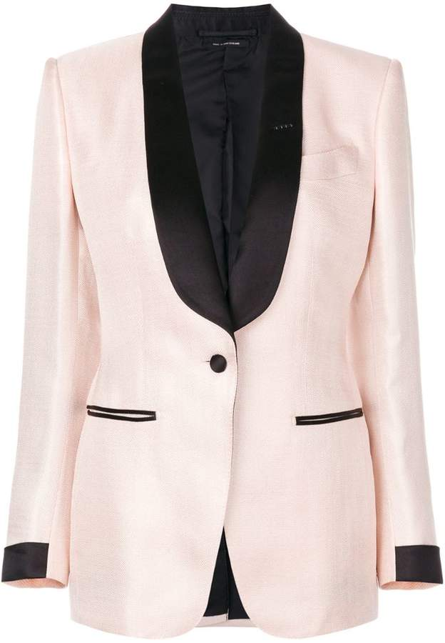 shawl lapels blazer
