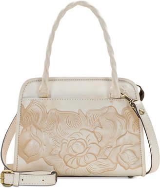 Patricia Nash Paris Waxed Leather Satchel