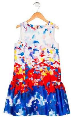 Milly Girls' Printed Sleeveless Dress