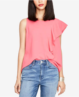 Rachel Roy Cascading One-Shoulder Top, Created for Macy's