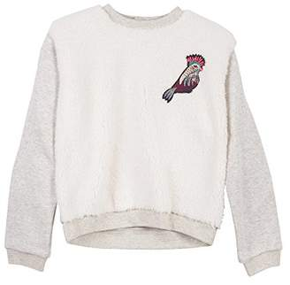 Catimini Girl's Sweat Mouton Sweatshirt
