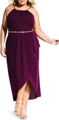 City Chic Lovestruck Maxi Dress