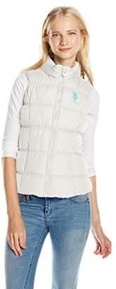 U.S. Polo Assn. Women's Juniors Basic Bubble Vest