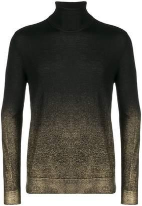 Versace sprayed detail jumper