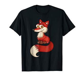 Funny Fox With Long Tail Shirt | Hiking and Hunting Clothing