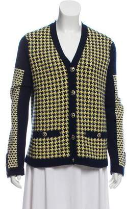Chanel Cashmere V-Neck Cardigan