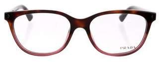 Prada Square Logo Eyeglasses