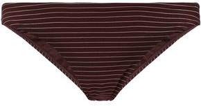 Zimmermann Striped Low-Rise Bikini Briefs