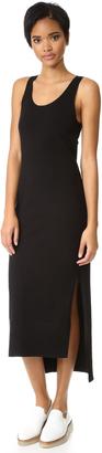 DKNY Sleeveless Dress with Side Slits $258 thestylecure.com