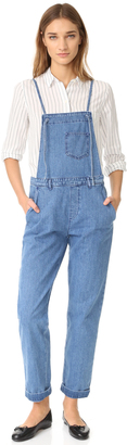 M.i.h Jeans Lindvall Dungarees $365 thestylecure.com