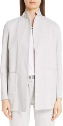 Fabiana Filippi Jersey Long Blazer
