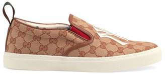 Gucci Men's slip-on sneaker with NY Yankees patchTM