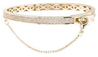 Eddie Borgo Extra Thin Pavé Safety Chain Bracelet
