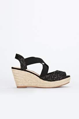 067c4c1ac00 Peep Toe Espadrille Wedges - ShopStyle UK
