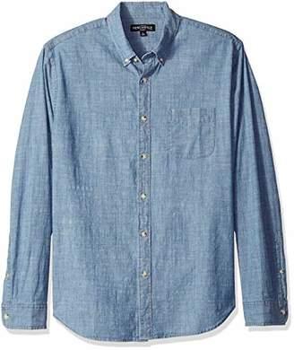 J.Crew Mercantile Men's Long-Sleeve Chambray Shirt