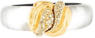 Alexis Bittar Crystal-Embellished Bangle Bracelet $95 thestylecure.com
