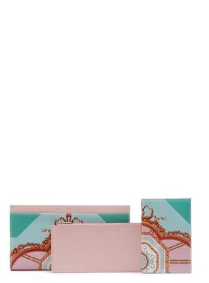 Ted Baker Estela Versailles Print Leather Travel Wallet
