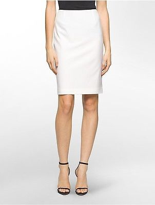 Calvin Klein Calvin Klein Womens Straight Suit Skirt