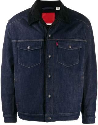 Levi's flap pocket denim jacket