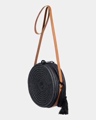 Roxy Find True Love Straw Shoulder Bag