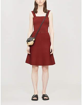 fb0c2fd3fff Sandro Alyson sleeveless stretch-knit dress