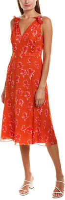 Prabal Gurung Chiffon Silk Gown