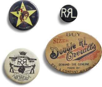Ralph Lauren Logo Pin 4-Piece Set