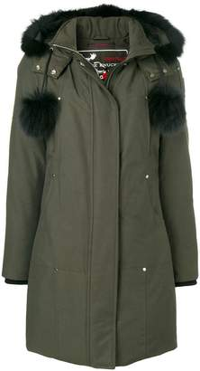Moose Knuckles hooded padded coat