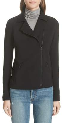 Majestic Filatures French Terry Moto Jacket