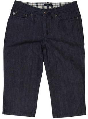 Burberry Cropped Mid-Rise Jeans w/ Tags