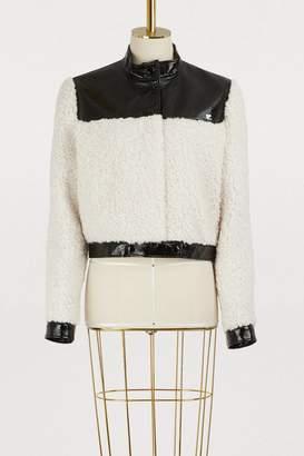 Courreges Faux shearling jacket