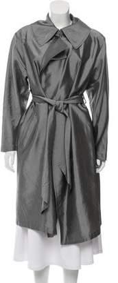 Donna Karan Belted Lightweight Coat