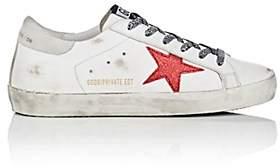 Golden Goose Women's Superstar Suede Sneakers - White