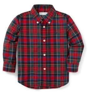 Ralph Lauren Childrenswear Baby Boy's Plaid Cotton Poplin Shirt