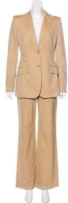 Dolce & Gabbana Silk Wide-Leg Pantsuit