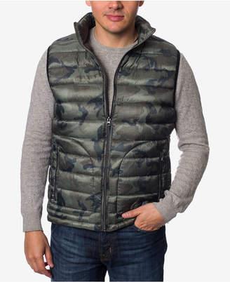 Buffalo David Bitton Men's Big & Tall Quilted Camo Vest