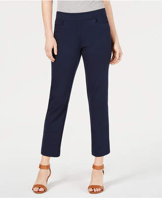 Style&Co. Style & Co Cropped Pull-On Straight-Leg Pants, Created for Macy's