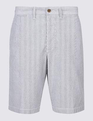 Marks and Spencer Big & Tall Pure Cotton Striped Shorts