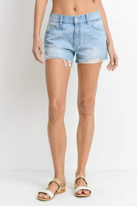 Just USA Denim Frayed Shorts