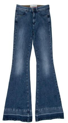 Stella McCartneyStella McCartney Flared Mid-Rise Jeans