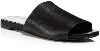 Charles David Women's Soleil Leather Slide Sandals