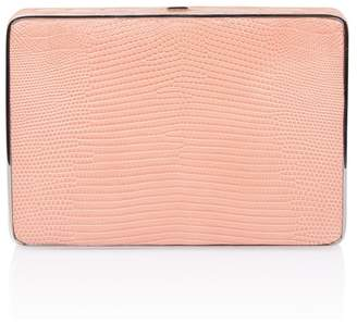 Hunting Season Pink Lizard Square Compact Clutch