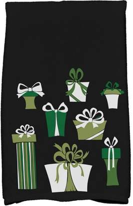 Holiday Essence Present Time Geometric Print Kitchen Towel
