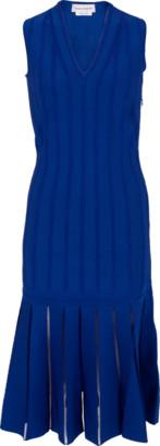 Alexander McQueen Knit V-Neck Dress