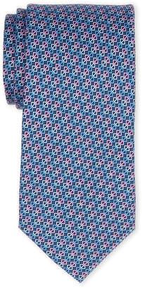 MICHAEL Michael Kors Purple Diagonal Capsule Silk Tie