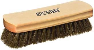 JobSite Genuine 100% Horsehair Professional Shoe Shine Brush - 6.75 inch long