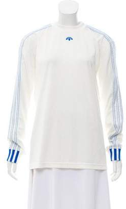 Alexander Wang x Adidas Long Sleeve Jersey Top
