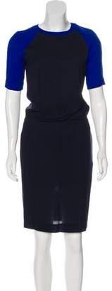 A.L.C. Short Sleeve Knee-Length Dress